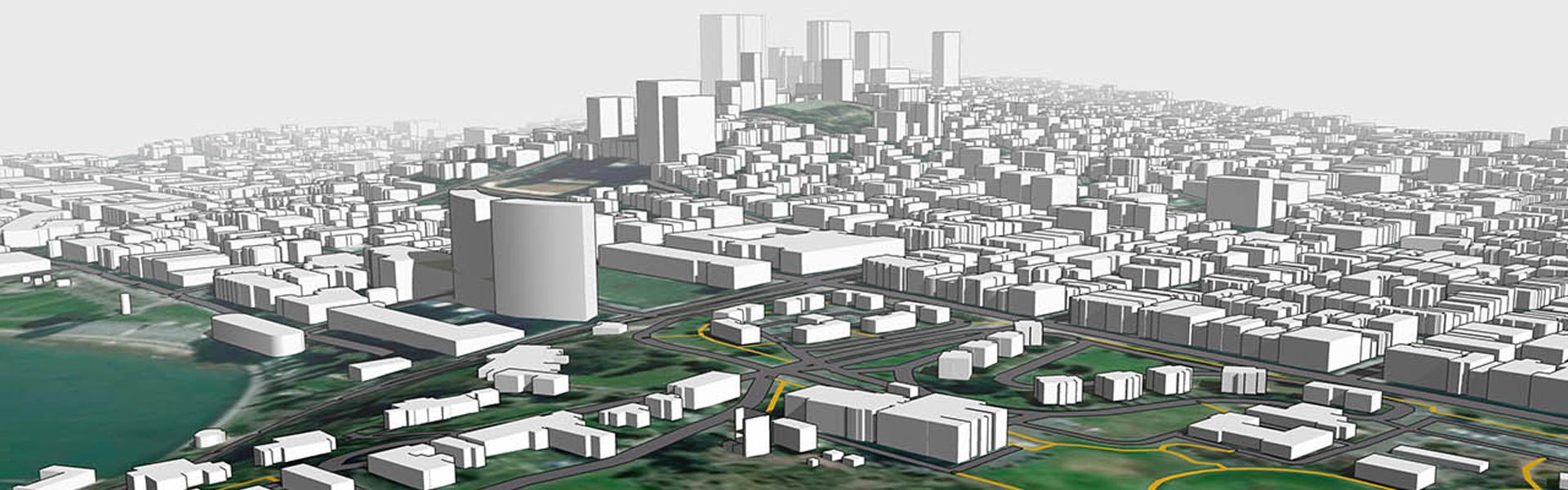 Modele urbanistyczne 3D Place Maker