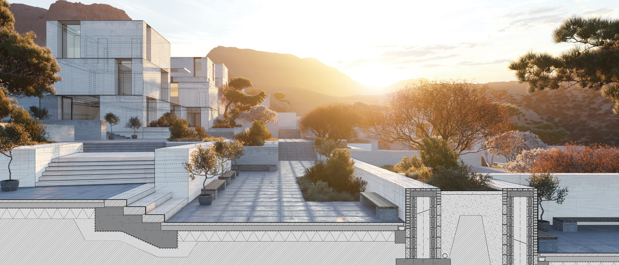 Architektura krajobrazu w 3D | Projektowanie ogrodów w 3D | SketchUp