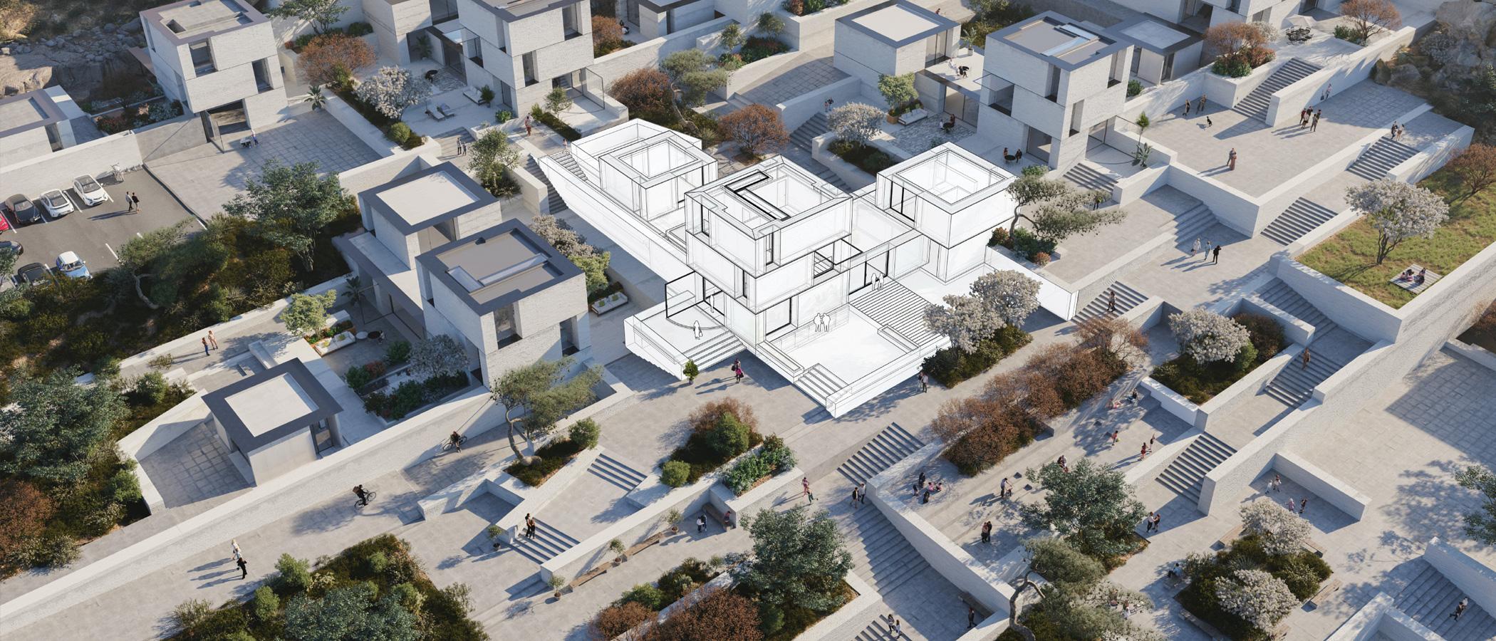 SketchUp planowanie urbanistyczne